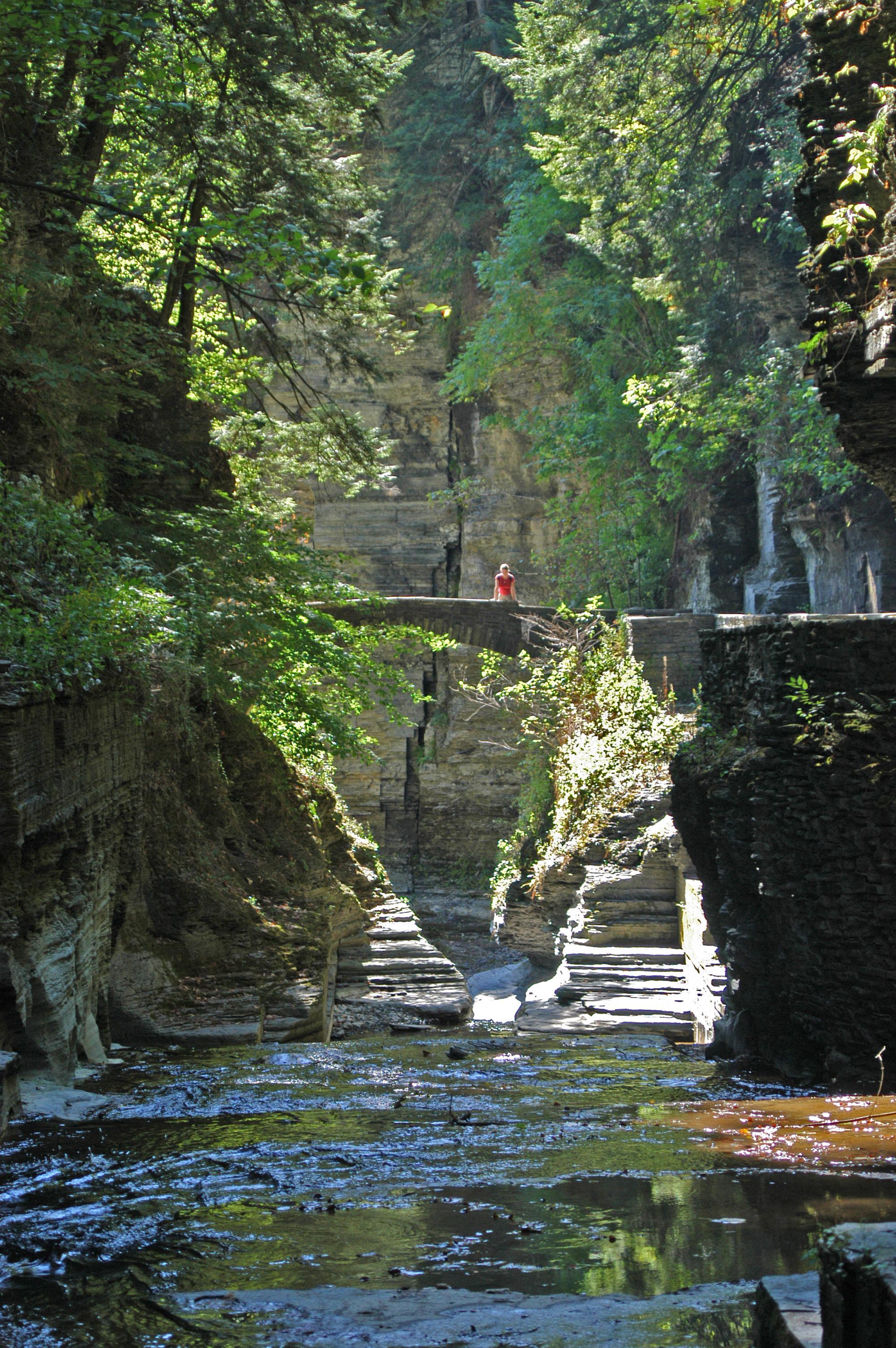 Ithaca Trails - Robert H  Treman Upper Gorge Trail